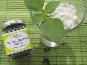 Aufstrich-Vanille-Limetten-Pfeffer